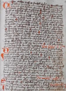 Weichbild magdeburski rkps Biblioteki Opactwa Św. Floriana Austria (Stiftsbibliothek St. Florian) Flor. 551/XI art. 1