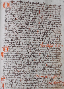 Weichbild magdeburski rkps Biblioteki Opactwa Św. Floriana Austria (Stiftsbibliothek St. Florian) Flor. 551/XI art. 38 [Gn. 35]