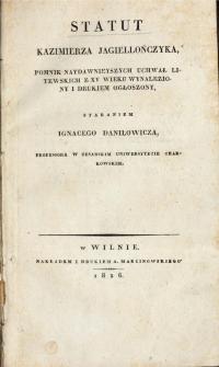 Sudiebnik Kazimierza Jagiellończyka z 1468 r. - wersja polska