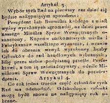 Fragmenty protokołu posiedzeń Komitetu Cywilnego Reformy z sesji od 32 do 35 obrad toczących się od 23 do 30 października 1814 r., a obejmujących dyskusję nad rozdziałem I projektu A. Bieńkowskiego.