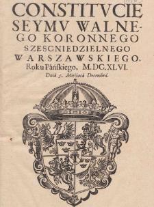 Prawodawstwo Sejmu polskiego XV-XVIII w.
